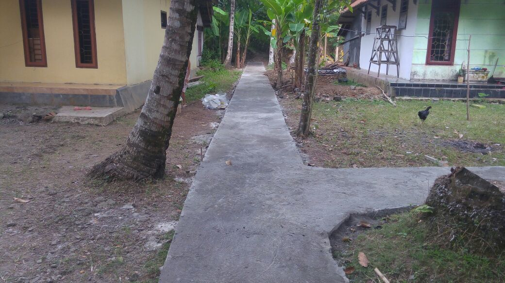 Sebagian Pembangunan Fisik Desa Sidamukti telah Selesai