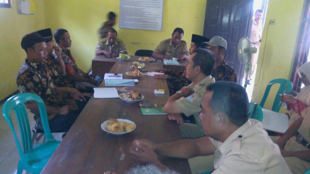 Rapat Koordinasi Persiapan Pembangunan dari Dana Desa Tahap I