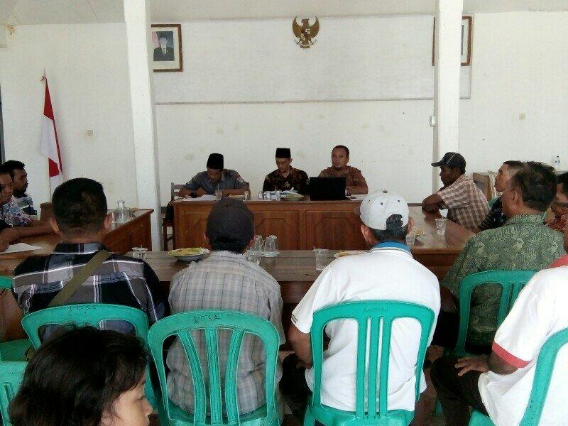 Pertemuan dengan Kelompok Tani Desa Sidamukti
