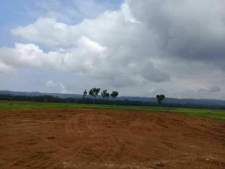 Pengurugan Lapangan Desa